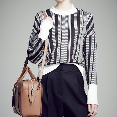 3.1 Phillip Lim Pre-Fall 2015 Patterned Sweater